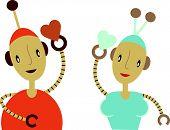 Robots finding Love