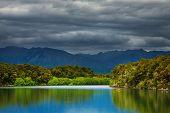 Manapouri Lake, South Island, Fiordland, New Zealand