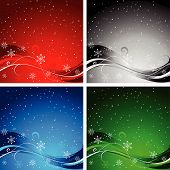Weihnachten Backgrounds.Eps