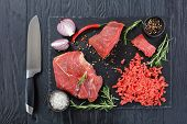 Forcemeat And Pieces Of Beef Filet poster