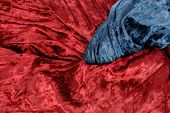 Red And Blue Velvet
