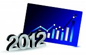 2012 Growth in business illustration design