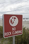 No escalada en roca
