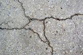Cracked Terrazzo Detail.