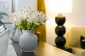 Flower Vase In Beautiful Interior Design
