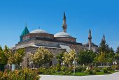 Mevlana Museum And Mausoleum At Konya Turkey