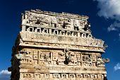 Ornate Mayan Ruin
