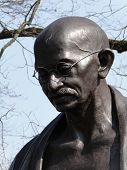 Estátua de Mahatma Ghandi