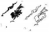 Kodiak Island Borough, Alaska (boroughs And Census Areas In Alaska, United States Of America,usa, U. poster