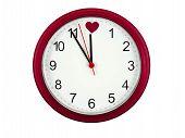 Reloj de San Valentín