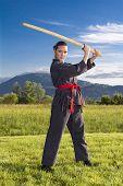 Ninja girl with Katana