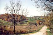 Amish farm land