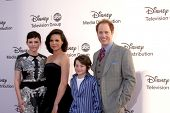 LOS ANGELES - MAY 20:  Gennifer Goodwin, Lana Parrilla, Jared Glmore, Raphael Sbarge arrives at the ABC / Disney International Upfronts at Walt Disney Studios Lot on May 20, 2012 in Burbank, CA