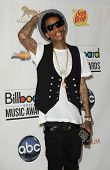 LAS VEGAS - MAY 20:  Whiz Khalifa in the Press Room at the 2012 Billboard Awards at MGM Garden Arena
