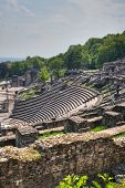 picture of gaul  - Amphitheater of the Three Gauls located in Lyon - JPG