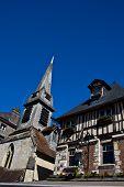Honfleur old architecture