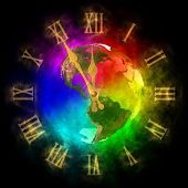 Cosmic Clock - Optimistic Future On Earth - America