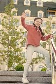 Event Overview. Leisure Options. Free Time And Leisure. Girl Urban Background. Activities For Teenag poster