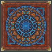 Patrón de Mandala