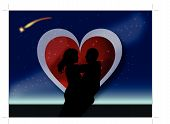 valentine couple hug