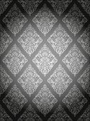 Damask Pattern Gray