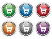Shopping web buttons