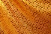Golden Silk Texture Background