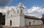 White cathedral, Ojojona, Honduras