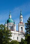 Cathedral of sacred great martyr Ekaterina. Kingisepp. Russia