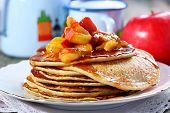 Rye Pancakes.