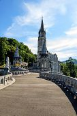 Basilica Of The Rosary In Lourdes