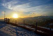 Sunrise On Rigi Alp, Switzerland
