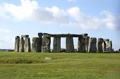 stock photo of stonehenge  - A monument and a prehistoric druids temple in wiltshire - JPG