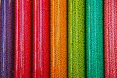 Colorful Candy Tubes