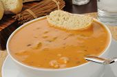 Chicken Gouda Cheese Bisque