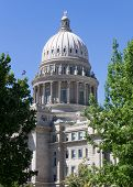 View Of The Boise Capital Building