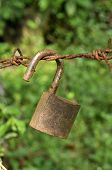 Lock Key Rust Old Hang