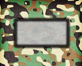 picture of ami  - Amy camouflage uniform with room for text - JPG