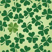 Cloverleaf Seamless Saint Patrick's Day Pattern