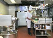 foto of cake-mixer  - photograph of cake bakery and pastry industry - JPG