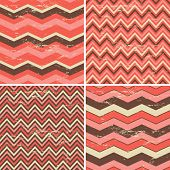 Seamless Chevron Patterns Collection