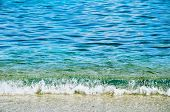 Clear Water Of Cretan Sea Front View