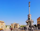 San Rafael Monument In Cordoba, Spain