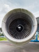 Engine Of A Jumbo Jet