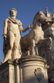 Pollux Statue Defender Of Rome Capitoline Hill Rome Italy