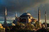 Hagia Sophia at daybreak