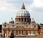 Majestic Dome Of St. Peter's Basilica