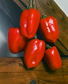 Bunch Of Red Pepper