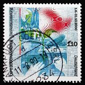 Postage Stamp Germany 1999 Expo 2000, Hannover