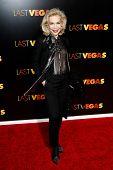 NEW YORK- OCT 29: Socialite Lynn Wyatt attends the premiere of 'Last Vegas' at the Ziegfeld Theatre on October 29, 2013 in New York City.